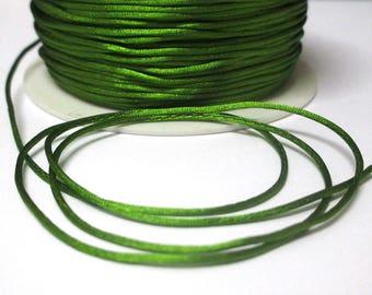 10 m olive green rat tail 1 mm