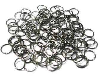 Platinum 100 color 7mm jump rings