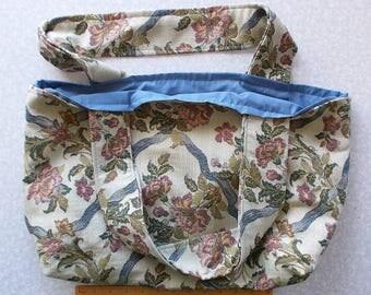 Carpet Bag Shopping Bag