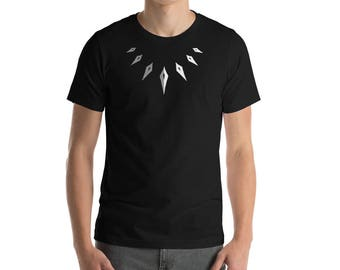Marvel Black Panther Themed T-Shirt