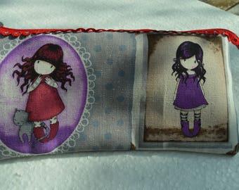 gorjuss doll pouch