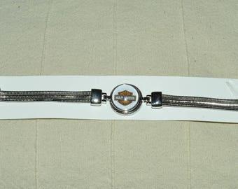 Harley davidson chunk bracelet