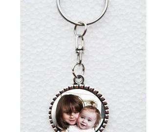 Keychain with photo to choose