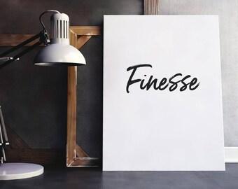 Finesse Quote   Finesse, Hip Hop Lyrics, Women Quote, Fashion Quote, Closet Quote, Digital Download, Song Lyrics, Music Lyrics, Style Quote