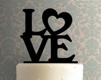 Love Cake Topper 102