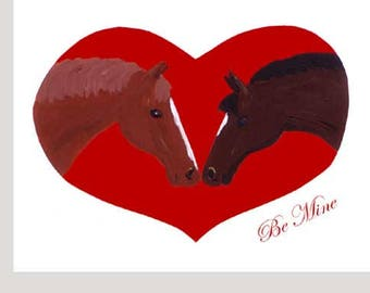 Be Mine Valentine's Day - Valentine Card Set of Eight