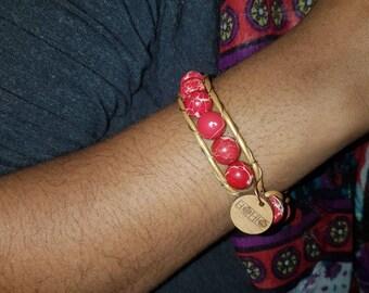 Red Sea Sediment Jasper (1 - 3 wraps, 6mm & 10mm beads)