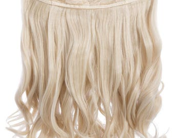 """Hair extensions Curly clip in extension 16"""""""