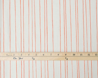 Free Shipping - Pencil Stripes in Natural - Cozy Collection by Steel+Cotton
