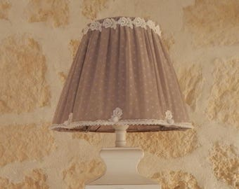 LAMP BASE WITH LAMP SHADE RETRO REVISITED