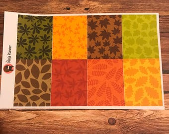 Colorful Leaves Collection: Solid full boxes