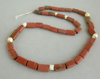 Ancient glass paste beads, Ancient Byzantine beads, VIII century.