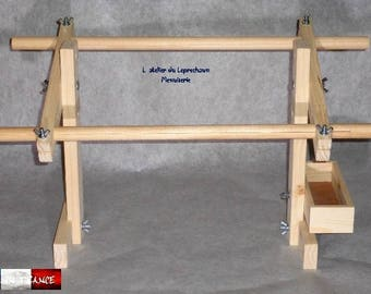 CRAFT embroidery's frame has embroidered adjustable