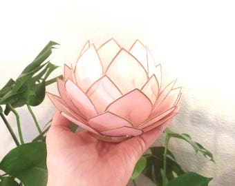 Lotus flower candle holder/shell candle holder