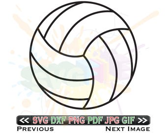 Volleyball SVG Files for Cutting Sports Cricut - SVG Files for Silhouette - Instant Download