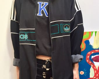mixed adidas jacket