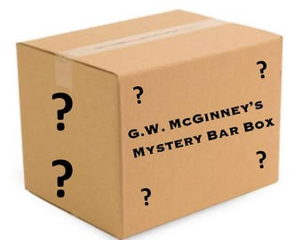 Mystery Bar Box Filled With Vintage Barware