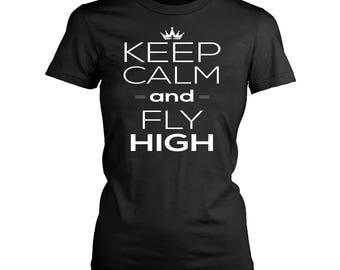 Airplane womens fit T-Shirt. Funny Airplane shirt.