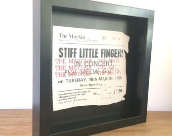 Framed Prints - Classic Concert Tickets, Mayfair - Newcastle