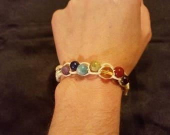 Hemp Chakra Bracelet