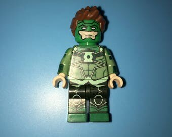 DC Comic Version GREEN LANTERN Custom Minifigure