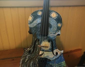 Starry Night Violin