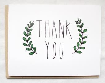 Thank You Card - Individual