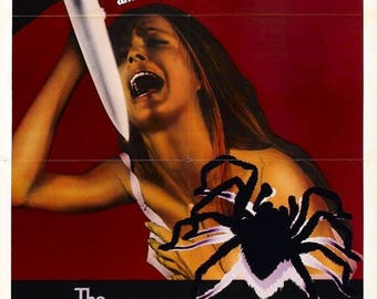 Back to School Sale: Black Belly of the Tarantula Movie POSTER (1971) Crime/Thriller