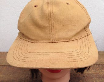 vintage one size fits all Made In Usa hats 80s / 90s adjustable hats