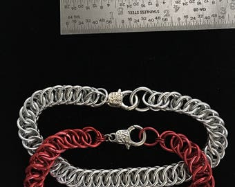 Handcuffed Chainmaille Bracelet