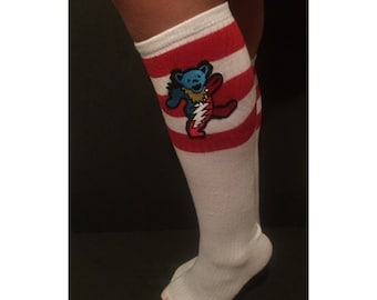 Grateful Dead Dancing Bear Socks