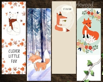 printable fox bookmarks harry potter bookmarks hogwarts houses bookmarks 2765