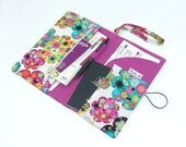 """Reserved Listing - Deluxe Solo Travel Wallet for one passport & travel documents holder in """"Brooklyn Debi"""" by Joella Hill Australian Seller"""