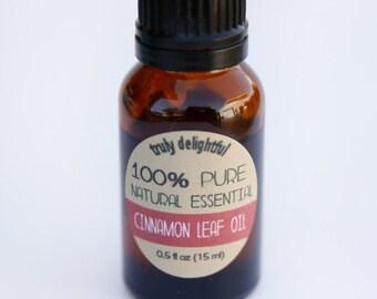 Cinnamon Leaf Essential Oil - 15ml bottle