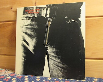 The Rolling Stones - Sticky Fingers - 33 1/3 Vinyl Record