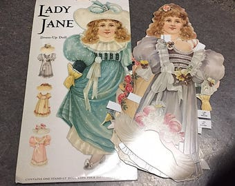 Mamelok Press Lady Jane Paper Dolls