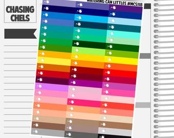 Watering Can Littles Headers #MCS118 Premium Matte Planner Stickers