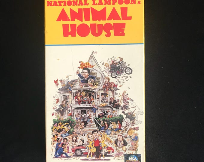 National Lampoon's Animal House 1978 Vintage Movie VHS