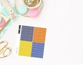 Sunflower Glitter Headers, planner stickers