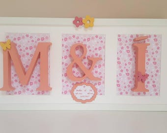 Personalised Initials Frame