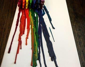 Melted Crayon box