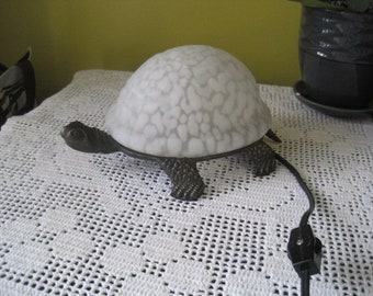 Vintage turtle night light / Vintage Swig night light turtle