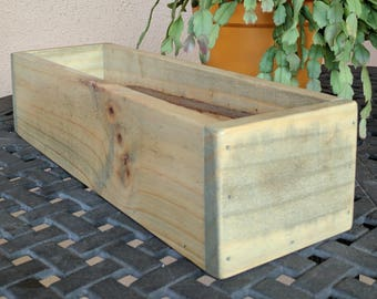 Rustic Multi-purpose Box made from Reclaimed & Repurposed Pallet Wood