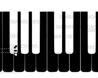 Piano SVG Keyboard SVG Music SVG