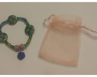Lava Stone Essential Oil Diffuser Bracelet