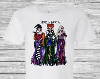 Hocus Pocus Shirt - Hocus Pocus Tank - Sanderson Sister Shirt - Disney Halloween Shirt - Hocus Pocus Halloween Shirt