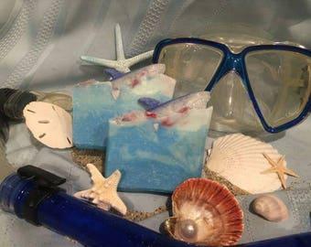 You're Gonna Need a Bigger Bath Artisan Soap - VEGAN - Shark Week - Jaws - Movie Fan - Ocean, Sea, Beach - Free Shipping - Body - Royalty