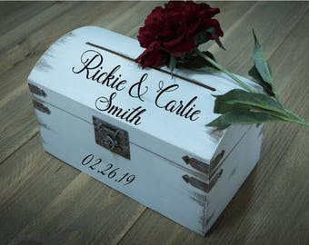 Wedding Card and Money Holder, Wedding Keepsake Box,  Custom Keeper, Rustic Card Box for Wedding, Custom Keeper, Prayer Box