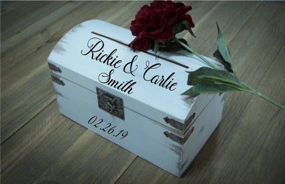 Wedding Card and Money Holder Wedding Keepsake Box Custom – Wedding Card Keepsake Box