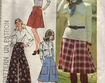 """Skirts and pants """"how to sew"""" Simplicity pattern"""
